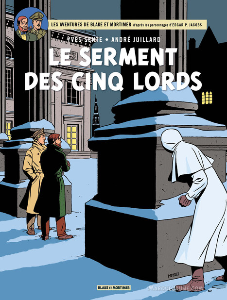 Le retour de Blake et Mortimer | Merveilles - Marvels | Scoop.it