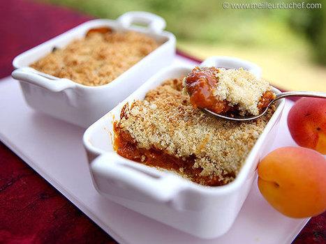 Crumble aux abricots   Recettes de cuisine de Meilleur du Chef   Scoop.it