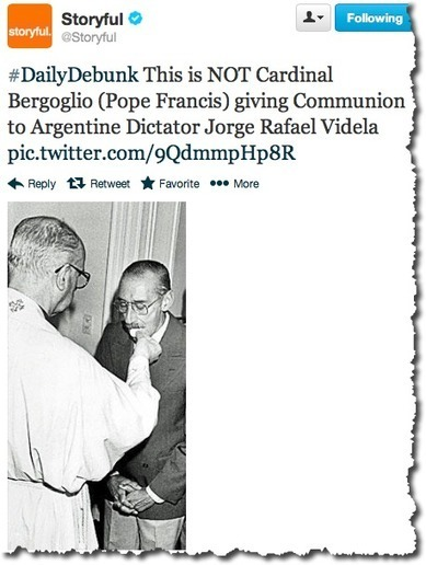 Fact-Checking Social Media: The Case of the Pope and the Dictator | Mediashift | PBS | Online journalistiek | Scoop.it