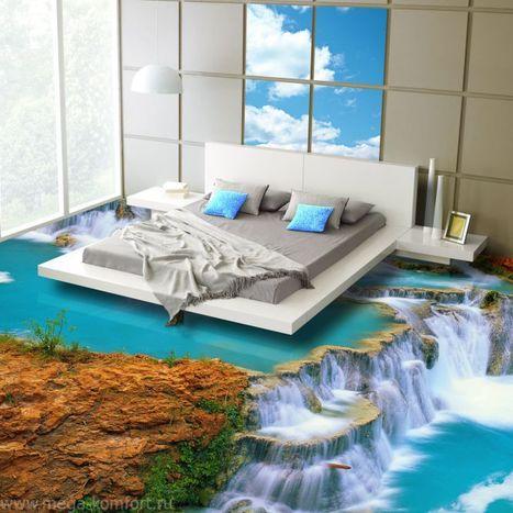 Los suelos en 3D y la composición de epoxy www.casaydecoracion.net Noticias en decoracion | Alarmur | Scoop.it