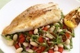 Seared snapper with spinach, white bean & chilli salad - Taste.com.au | 4-Hour Body Bean Cookbook | Scoop.it