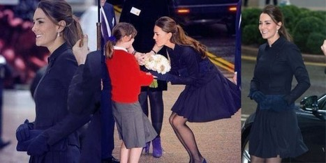 Kate Middleton come Marilyn Monroe! ma con la giacca Navy di Max Mara | Moda Donna - sfilate.it | Scoop.it