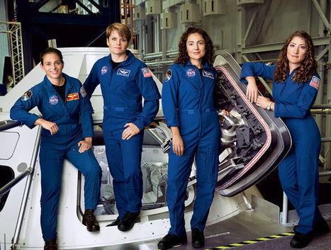 Would You Go to Mars? Meet the Four Women Astronauts Who Can't Wait to Go   Ginny Graves   Glamour.com   iScience Teacher   Scoop.it