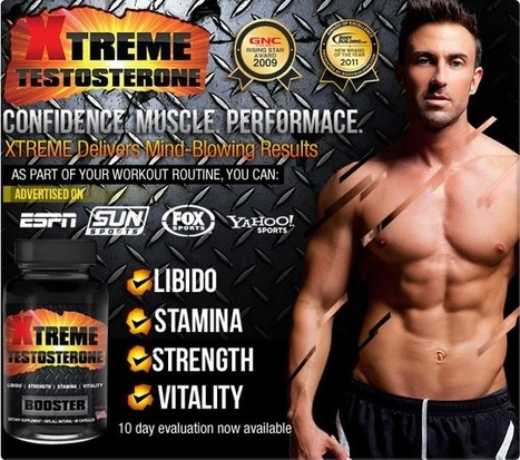 Xtreme Testosterone Booster Review – For Masculine and Tough Body! | raqxrofasa | Scoop.it