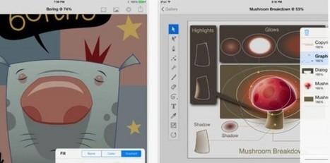 Inkpad, genial aplicación para dibujar con vectores en iPad | RECURSOS TIC EN EDUCACIÓN | Scoop.it
