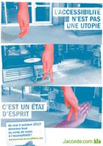 Jaccede : nouvelle campagne de sensibilisation pour l'accessibilité | Tourisme et Handicap, pour une société inclusive | Scoop.it