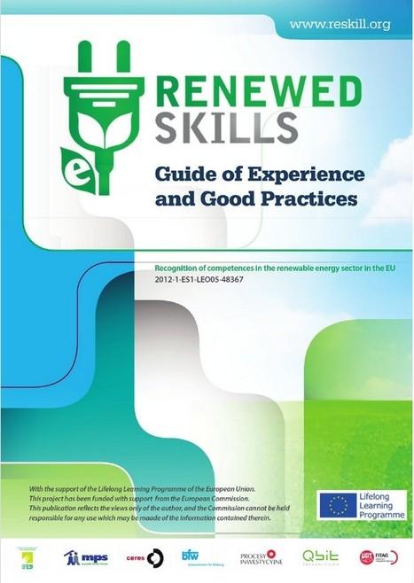 Guide good practices renewable energy recognition of competences | Recognition of competences in renewable energy sector | Scoop.it