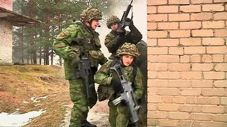 NATO Uses Baltic States to Draw Red Line, Send Message to Putin in Russia - NBCNews.com | Political Agendas | Scoop.it
