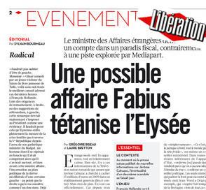 Polémique sur la une de «Libé»: «Notre objectif était de raconter la panique au sommet de l'Etat» | DocPresseESJ | Scoop.it