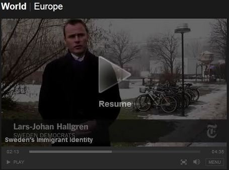 NYTimes video: Sweden's Immigrant Identity | Education in the world | Scoop.it