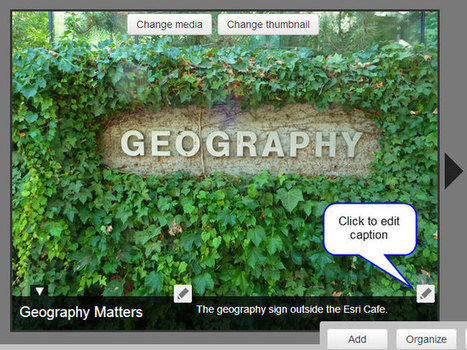 Adding audio to your story map map tours | ArcGIS Blog | Geospatial Pro - GIS | Scoop.it