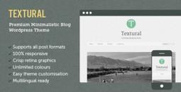 Textural Nulled Wordpress Theme   All Free Stuff   Scoop.it