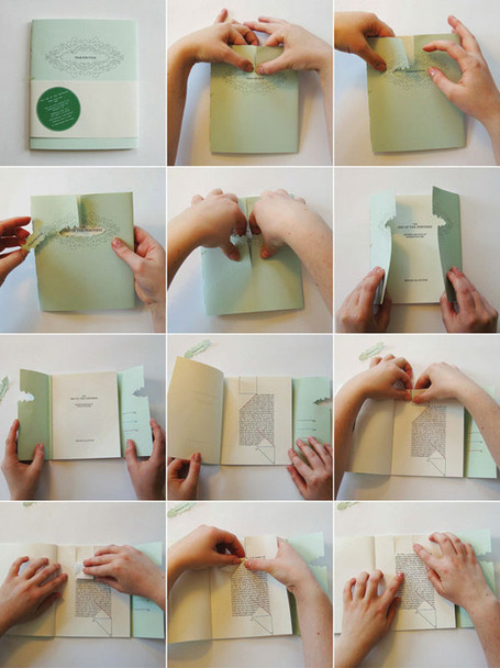10 Crazy and Unusual Book Designs | techniques de lecture | Scoop.it