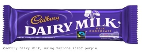 Cadbury wins exclusive use of Pantone 2685C purple | Corporate Identity | Scoop.it