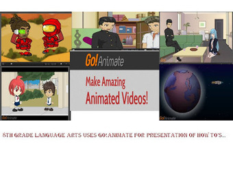 CDFMS Getting I.T Right: Go!Animate for Language Arts | English teaching & Learning | Scoop.it