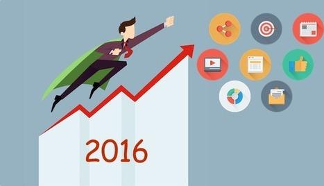 12 tendances pour votre marketing digital en 2016 | Marketing digital - cross-canal - e-commerce | Scoop.it