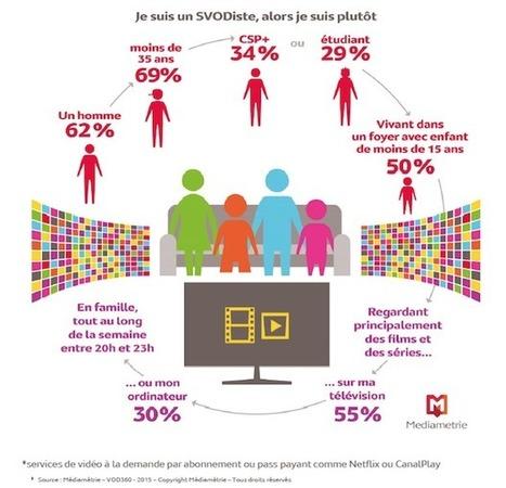 13%  des internautes de 15 ans et plus ont déjà regardé une vidéo via un service de SVOD | Video_Box | Scoop.it