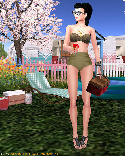 Chillin' Poolside | skirt | Scoop.it