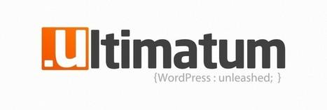 Ultimatum : un framework Wordpress en Drag&Drop   Wordpress, SEO et Blogging   Scoop.it