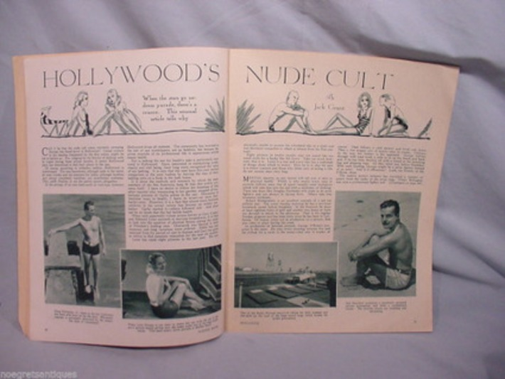 Hollywood's Nude Cult, 1932 | Sex History | Scoop.it