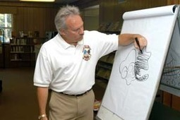 Cartoonist visits library | Tennessee Libraries | Scoop.it