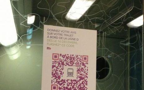«QR Codes»: râlez en direct auprès de la SNCF | QR code, NFC, Réalité augmentée… | Scoop.it