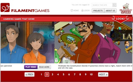 Learning games that shine | Filament Games | Worthwhile Websites | Scoop.it