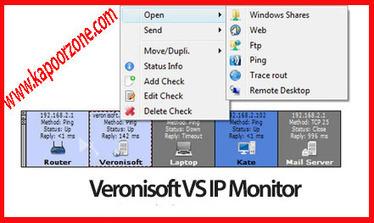 Veronisoft VS IP Monitor 1.5.10.3 (x86/x64) With Serial Free Download - Kapoor Zone | Kapoor Zone | Scoop.it