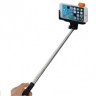 Savekarlo - ClickAway Selfie Stick Without Bluetooth Remote For Android And iOS Phones - Multicolour | Best Deals Online | Scoop.it