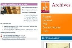 GénéInfos: Archives de Seine-Maritime et du Finistère : ce sera mars 2012... | GenealoNet | Scoop.it