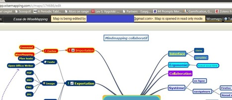 WiseMapping : du mindmapping collaboratif, gratuit et open source | Cartes mentales et heuristiques | Scoop.it