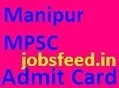 Manipur PSC Admit Card 2014 Download Section Officer Hall Ticket on mpscmanipur.gov.in | Career Scoopit | Scoop.it