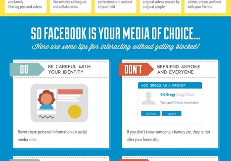 Social Media Etiquette 101 [INFOGRAPHIC] | DashBurst | Personal Branding and Professional networks | Scoop.it