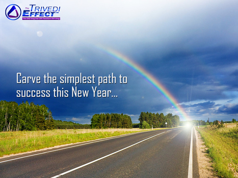 Carve the simplest path to success this New Year | Spiritual Master | Scoop.it