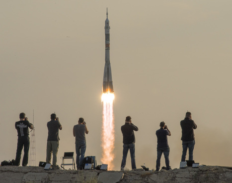Expedition 48 Crew Launches to the International Space Station | More Commercial Space News | Scoop.it