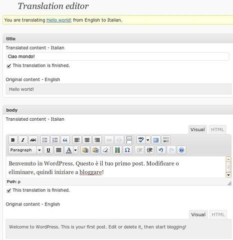 How to Create a Multilingual WordPress Site - ManageWP | WordPress | Scoop.it