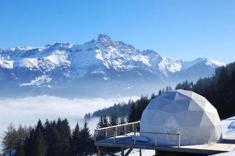 Les igloos écolos, un plan parfait pour des vacances en Suisse | Ecotourisme | Scoop.it