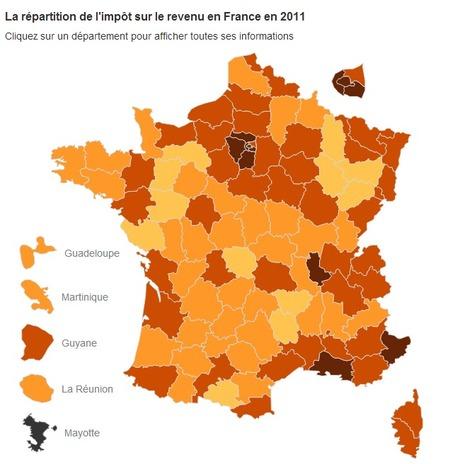 Impôts : le guide des impôts en France | Dataviz & Open Data | Scoop.it