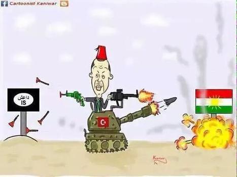 La hipocresía imperialista en el Kurdistán - JUSTO cuando los kurdos estaban venciendo a ISIS... les ataca el IMPERIO | La R-Evolución de ARMAK | Scoop.it