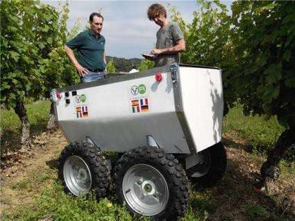 A robot to help improve wine production | Viticulture | Scoop.it