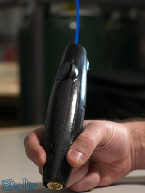3Doodler : Un stylo révolutionnaire pour dessiner en 3D | PixelsTrade Webzine | Business Apps : Applications in-house | Scoop.it