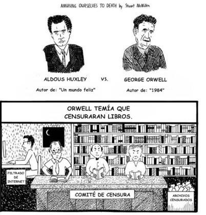 Orwell VS Huxley - La explicación de por qué nadie hace nada | DigitalSociety | Scoop.it