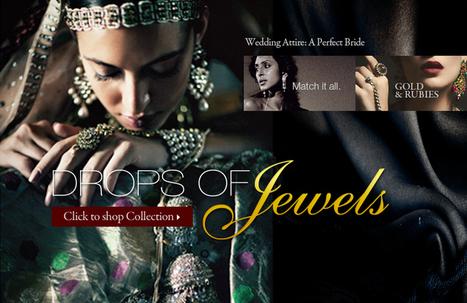 Buy Indian Bridal Jewelry online- Zarilan | indian wedding dresses | Scoop.it