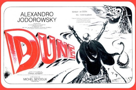 Jodorowsky's Dune: The SF Classic That Never Was | Science Fiction Future | Scoop.it