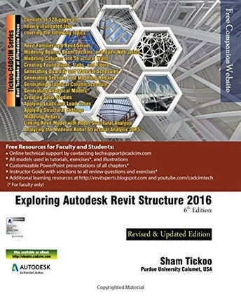 The 6th Edition of exploring Autodesk Revit Structure 2016 is just launched | PMP | Scoop.it