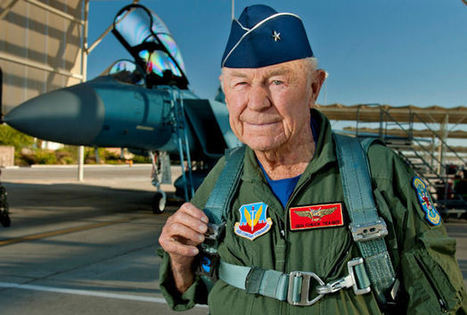 "United States Air Force ""Appreciation"" USAF Brigadier-General Charles Elwood ""Chuck"" Yeager 