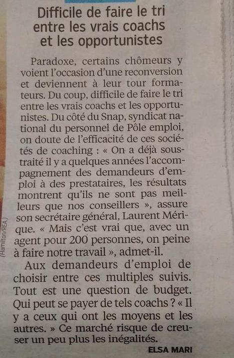 """Coachs """"Emploi"""" : séparer le bon grain de l'ivraie !   RH Attitude   Scoop.it"""