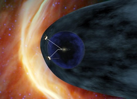 Voyager 1 Spacecraft about to Take the Exit Ramp to the Galaxy | SpaceMooc: The Solar System | Scoop.it