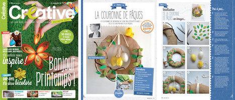 La fiche créative de FunkySunday dans le magazine Créative n°16 | Loisirs créatifs, DIY & activités manuelles | Scoop.it