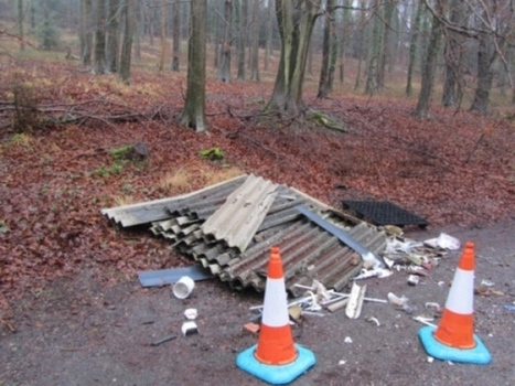 UK News: Fury as asbestos is dumped on the side of the road | Asbestos and Mesothelioma World News | Scoop.it
